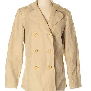 JM McLoughlin jacket tan colored
